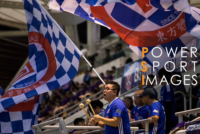 Fans of Eastern SC (HKG) shows their supports during the AFC Champions League 2017 Group G match between Eastern SC (HKG) and Kawasaki Frontale (JPN) at the Mongkok Stadium on 01 March 2017 in Hong Kong, China. Photo by Chris Wong / Power Sport Images