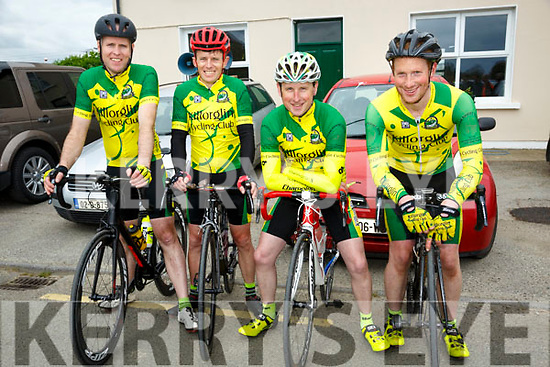 At the  John Drumm Cycle Race, Currow on Sunday were Bernard Sweeney, Ted McCarthy, Peter Clendennen and Edward Casey