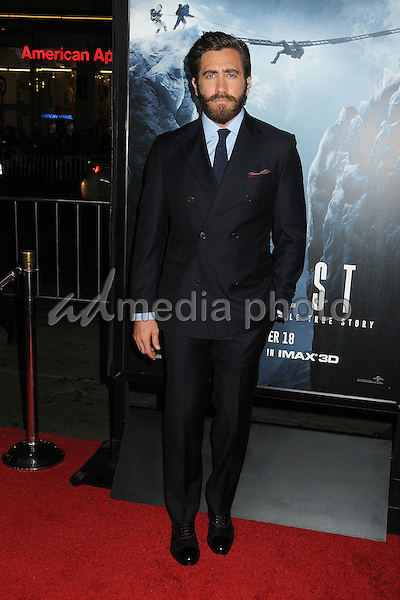 "9 September 2015 - Hollywood, California - Jake Gyllenhaal. ""Everest"" Los Angeles Premiere held at the TCL Chinese Theatre. Photo Credit: Byron Purvis/AdMedia"