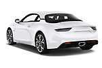 Car pictures of rear three quarter view of 2019 Alpine A110 Pure 2 Door Coupe Angular Rear