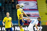 SOLNA, SWEDEN - OCTOBER 16: Sebastian Andersson of Sweden during the UEFA International Friendly match between Sweden and Slovakia at Friends Arena on October 16, 2018 in Solna, Sweden. Photo by David Lidstrom/LP<br /> ***BETALBILD***