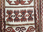 Antique Karakalpak Tentband Rug