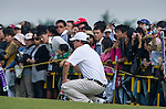 Hugh Grant during the Mission Hills Start Trophy at the Mission Hills Golf Resort on October 31, 2010 in Haikou, China. The Mission Hills Star Trophy is Asia's leading leisure liflestyle event and features Hollywood celebrities and international golf stars. Photo by Victor Fraile
