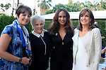 PALM SPRINGS - APR 27: Lucie Arnaz, Lorna Luft, Beverly Johnson, Linda Gray at a cultivation event for The Actors Fund at a private residence on April 27, 2016 in Palm Springs, California