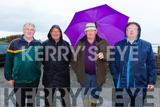 At the Churchhill Heritage Day at the forge on Saturday were Dermot Crowley, Jim O'Sullivan, JP Daly and Jim Wren