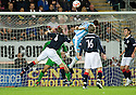 21/09/2010   Copyright  Pic : James Stewart.sct_jsp020_falkirk_v_hearts  .:: KEVIN KYLE HEADS HOME THE THIRD :: .James Stewart Photography 19 Carronlea Drive, Falkirk. FK2 8DN      Vat Reg No. 607 6932 25.Telephone      : +44 (0)1324 570291 .Mobile              : +44 (0)7721 416997.E-mail  :  jim@jspa.co.uk.If you require further information then contact Jim Stewart on any of the numbers above.........