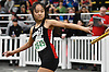 Kristen Ong of Plainedge competes in the girls 4x800 meter relay during the Nassau County Class B indoor track and field championships and state qualifiers at St. Anthony's High School on Tuesday, Feb. 7, 2017.