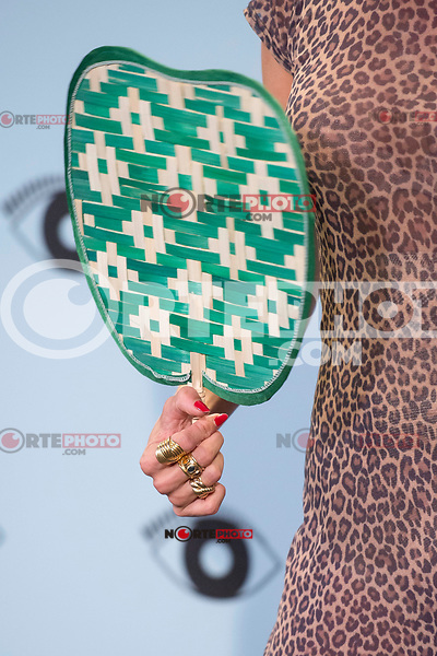 Rings and nails detail of Miranda Makaroff attends to the photocall of Kenzo Summer Party at Royal Theater in Madrid, Spain September 06, 2017. (ALTERPHOTOS/Borja B.Hojas) /NortePhoto.com