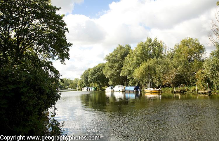 River Waveney, Beccles, Suffolk, England