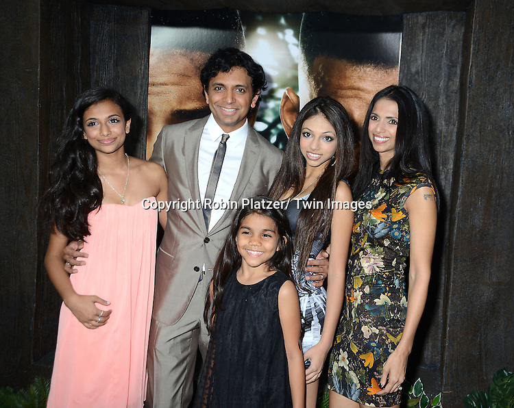 M Night Shyamalan Family Domestic Premiere of &...