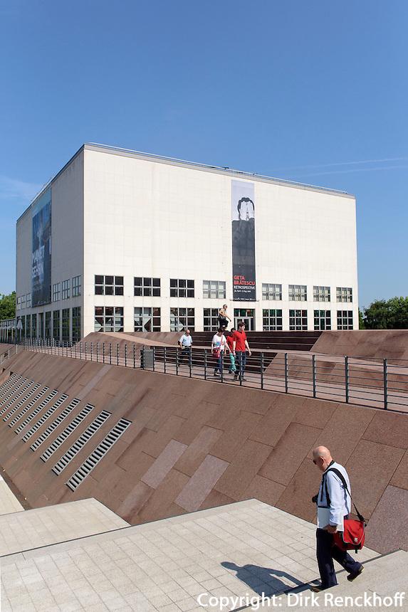 Galerie der Gegenwart der Kunsthalle erbaut von Unger, Glockengie&szlig;erwall, 20095 Hamburg, Deutschland<br /> Galerie der Gegenwart of Kunsthalle built by Unger, Glockengie&szlig;erwall, 20095 Hamburg, Garmany