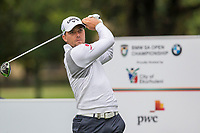 Haydn Porteous (RSA) during the 1st round of the BMW SA Open hosted by the City of Ekurhulemi, Gauteng, South Africa. 12/01/2017<br /> Picture: Golffile | Tyrone Winfield<br /> <br /> <br /> All photo usage must carry mandatory copyright credit (&copy; Golffile | Tyrone Winfield)