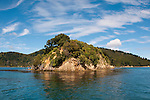 New Zealand, South Island: Scenic landscape near town of Picton on Marlborough Sounds. Photo copyright Lee Foster. Photo # newzealand125340