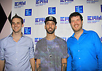 "Doug Larsen and Gliffics and Ben Lindell of EMW Music Group is proud to present ""Shuffle"", its debut album with 100 % of the proceeds being donated to VH1 Save The Music Foundation featuring 14 original songs by 14 original artists - Amber Skye, Matt Balanger, Dan Godlin, Sam Nulton, Gliffics, Johnny Burgos, Bobby Brickstone, Amanda Stone (recent finalist on The Voice), Dan Godlin, Lenny Harold, Roshon, Camo, Freddie Cosmo, Guy Lockard available on June 4, 2013 at www.emwshuffle.org/VIP and at this site for more information. The party was on May 31, 2013 at Bobby's, New York City, New York. (Photo by Sue Coflin/Max Photos)"