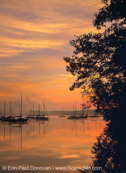 Lake Massabesic in Auburn, New Hampshire USA