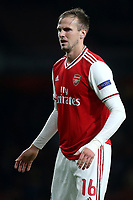 Rob Holding of Arsenal during Arsenal vs Standard Liege, UEFA Europa League Football at the Emirates Stadium on 3rd October 2019