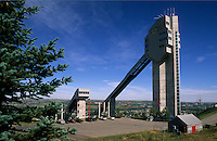 Olympic Ski Jumping stadium and jump, Calgary, Alberta, Canada