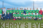 The Finuge team who played Listowel Emmets in the Bernard O'Callaghan Memorial Senior Football Championship Final at Stack Park, Ballybunion on Sunday.