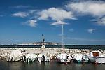 Kleiner Hafen, Meze, Etang de Thau, Languedoc, Canal du Midi, Frankreich, France