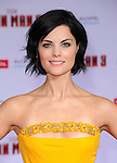 Jaimie Alexander at The World Premiere of Marvel's Iron Man 3 held at The El CapitanTheatre in Hollywood, California on April 24,2013                                                                   Copyright 2013 Hollywood Press Agency