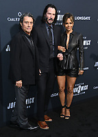 "15 May 2019 - Hollywood, California - Ian McShane, Keanu Reeves, Halle Berry. ""John Wick: Chapter 3 - Parabellum"" Special Screening Los Angeles held at the TCL Chinese Theatre.     <br /> CAP/ADM/BT<br /> ©BT/ADM/Capital Pictures"
