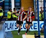 Mark Duffy of Sheffield Utd celebrates his goal, the third Utd goal during the Championship match at the Hillsborough Stadium, Sheffield. Picture date 24th September 2017. Picture credit should read: Simon Bellis/Sportimage