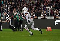Interception S Zac Goran (Schwäbisch Hall Unicorns) - 12.10.2019: German Bowl XLI Braunschweig Lions vs. Schwäbisch Hall Unicorns, Commerzbank Arena Frankfurt