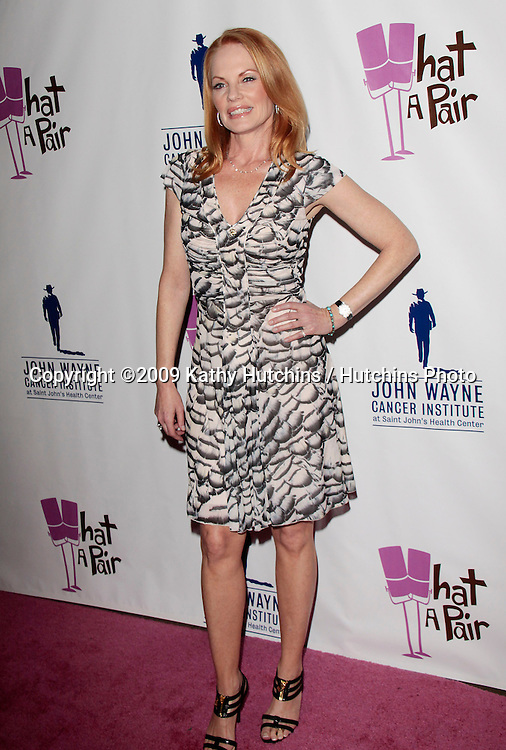 "Marg Helgenberger.""What A Pair! 7"" Celebrity Concert to Benefit the John Wayne Cancer Institute.The Broad Stage.Los Angeles, CA.September 26, 2009.©2009 Hutchins Photo...."
