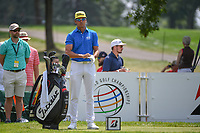 Rafael Cabrera Bello (ESP) looks over his tee shot on 9 during 4th round of the World Golf Championships - Bridgestone Invitational, at the Firestone Country Club, Akron, Ohio. 8/5/2018.<br /> Picture: Golffile | Ken Murray<br /> <br /> <br /> All photo usage must carry mandatory copyright credit (© Golffile | Ken Murray)