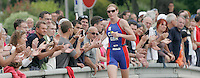 15 JUL 2007 - LORIENT, FRA - Leanda Cave (GBR) - World Elite Womens Long Distance Triathlon Championships. (PHOTO (C) NIGEL FARROW)