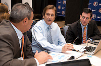 Randy Waldrum, Tony DiCicco. The NWSL draft was held at the Pennsylvania Convention Center in Philadelphia, PA, on January 17, 2014.