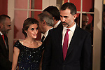 20141020 Spanish Royals Attends International Press Awards