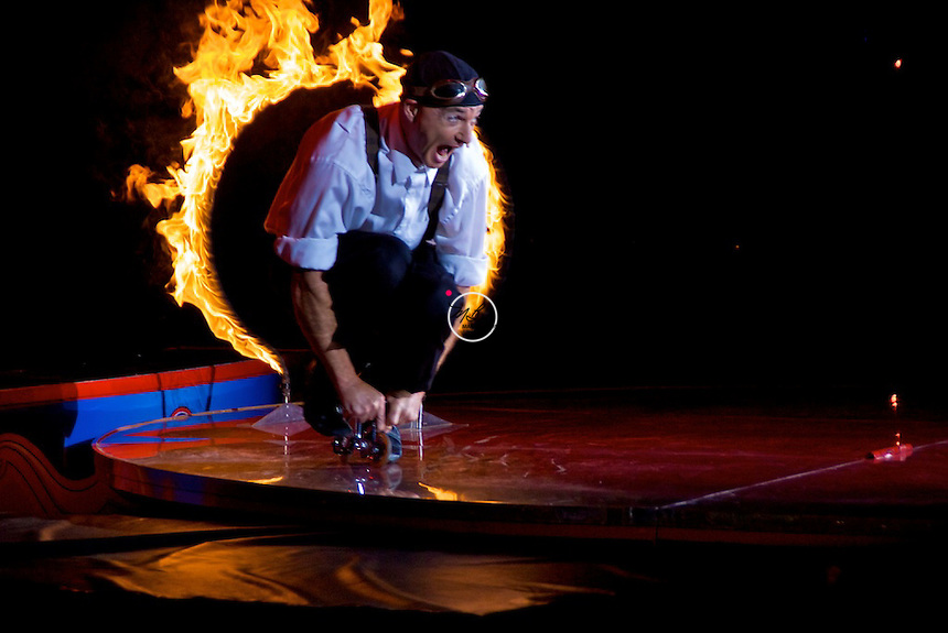 Barnum Bailey Circus Clown Ring of Fire