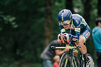 Guillaume Martin (FRA/Wanty-Groupe Gobert)<br /> <br /> Stage 20 (ITT): Saint-Pée-sur-Nivelle >  Espelette (31km)<br /> <br /> 105th Tour de France 2018<br /> ©kramon