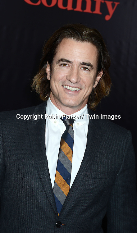 """Dermot Mulroney attends the New York Premiere of """"August: Osage County"""" on December 12, 2013 at the Ziegfeld Theatre in New York City."""