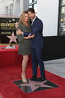 LOS ANGELES - OCT 24:  Jill Goodacre, Harry Connick Jr at the Harry Connick Jr. Star Ceremony on the Hollywood Walk of Fame on October 24, 2019 in Los Angeles, CA