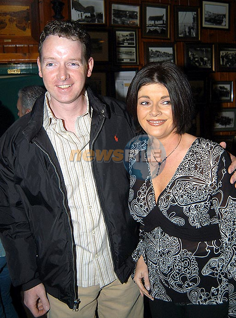 Look How's The Big 40.....Tom Maguire with His young Wife Siobhan,in Levins Bar Clogher Head at a Surprise Party,with Family and Friends...Picture  Newsfile...This Picture is sent to you by:..Newsfile Ltd.The View, Millmount Abbey, Drogheda, Co Louth, Ireland..Tel: +353419871240.Fax: +353419871260.GSM: +353862500958.ISDN: +353419871010.email: pictures@newsfile.ie.www.newsfile.ie