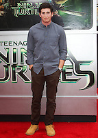WESTWOOD, LOS ANGELES, CA, USA - AUGUST 03: Sam Lerner at the Los Angeles Premiere Of Paramount Pictures' 'Teenage Mutant Ninja Turtles' held at Regency Village Theatre on August 3, 2014 in Westwood, Los Angeles, California, United States. (Photo by Celebrity Monitor)