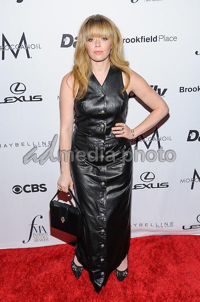 08 September 2016 - New York, New York- Natasha Lyonne. Daily Front Row's Fourth Annual Fashion Media Awards. Photo Credit: Mario Santoro/AdMedia
