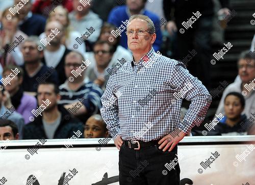 2012-02-15 / Basketbal / seizoen 2011-2012 / 1/4 finale Beker van België / Antwerp Giants - Charleroi / Sportpaleis / Eddy Casteels..Foto: Mpics.be