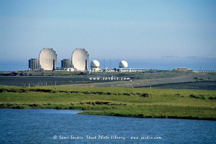 NATO base in Stokksnes, Iceland.