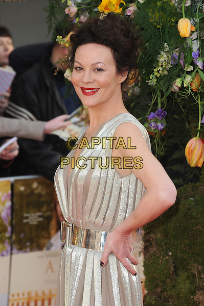 LONDON, ENGLAND - APRIL 13: Helen McCrory attends the UK Premiere of A Little Chaos at Kensington Odeon on April 13, 2015 in London, England.<br /> CAP/BEL<br /> &copy;BEL/Capital Pictures