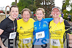 Ready for road at the Lee Strand/An Riocht 10k in Castleisland on Sunday l-r: Elaine Browne Rockchapel, Elaine Leahy Brosna, Aisling Enright Ballyduff and Teresa Grimes Listowel