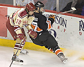 Daryl Marcoux, T.J. Fast - The Princeton University Tigers defeated the University of Denver Pioneers 4-1 in their first game of the Denver Cup on Friday, December 30, 2005 at Magness Arena in Denver, CO.