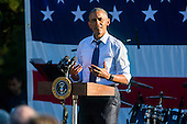 United States President Barack Obama addresses attendees to a picnic for members of Congress on the South Lawn of the White House in Washington, DC, USA, 14 June 2016. Democratic presidential candidate Bernie Sanders was reported to be in attendance.<br /> Credit: Jim LoScalzo / Pool via CNP