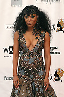 SANTA MONICA - JUNE 1: Robin Givens attends the 3rd Annual Wearable Art Gala at Barker Hangar on June 1, 2019 in Santa Monica, California. (Photo by Willy Sanjuan/PictureGroup)