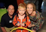 Bailey Dalton BInion and Gregory Binion with Jackson at the Little Galleria Halloween Spooktacular presented by MD Anderson Children's Cancer Hospital at The Galleria Sunday Oct. 30,2016.(Dave Rossman photo)