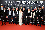 Cast of Kiki el Amor se Hace attends to the Feroz Awards 2017 in Madrid, Spain. January 23, 2017. (ALTERPHOTOS/BorjaB.Hojas)