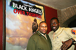 Layon Gray & Demetrius Grosse star in Layon Gray's Black Angels Over Tuskegee - The Story of the Tuskegee Airman on February 7, 2010 and continuing. Check it out at www.theblackgents.com (Photo by Sue Coflin/Max Photos)