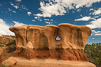 792800279 a strange shaped sandstone formation in devils garden escalante grand staircase national monument utah united states